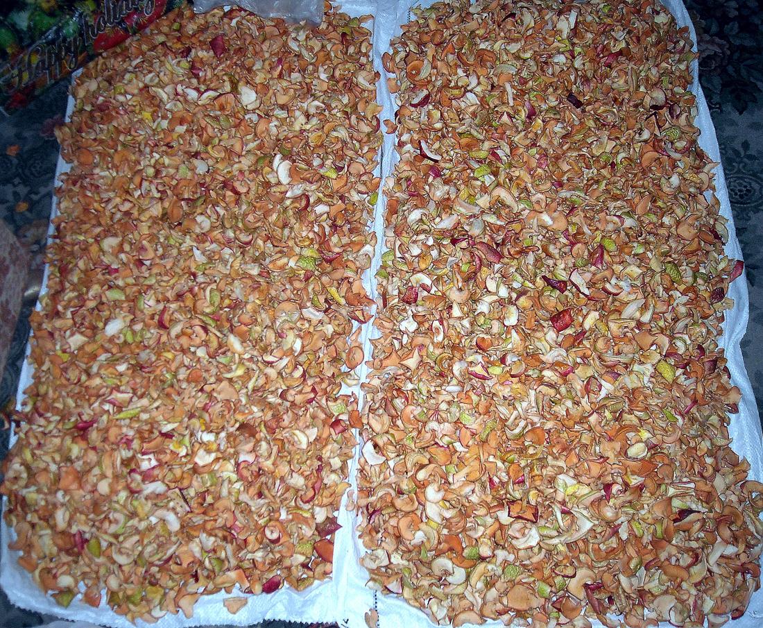 Как в домашних условиях высушить яблоки без сушилки 298